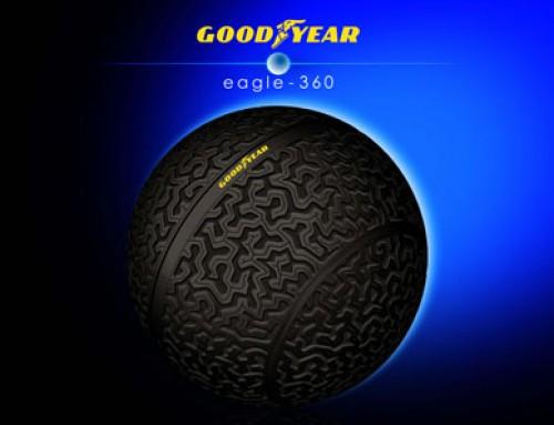 Goodyear presenta el Eagle-360