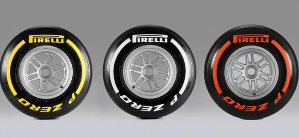 neumáticos de coche y fórmula 1