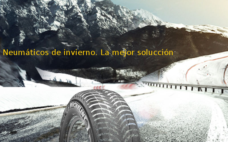 neumáticos de invierno la mejor solucción